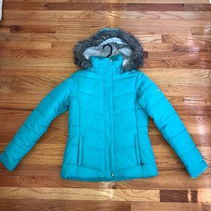 Columbia Puff Jacket w/ Fur Hood